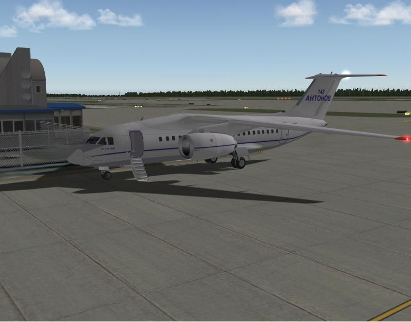 Antonov AN-148 X-plane