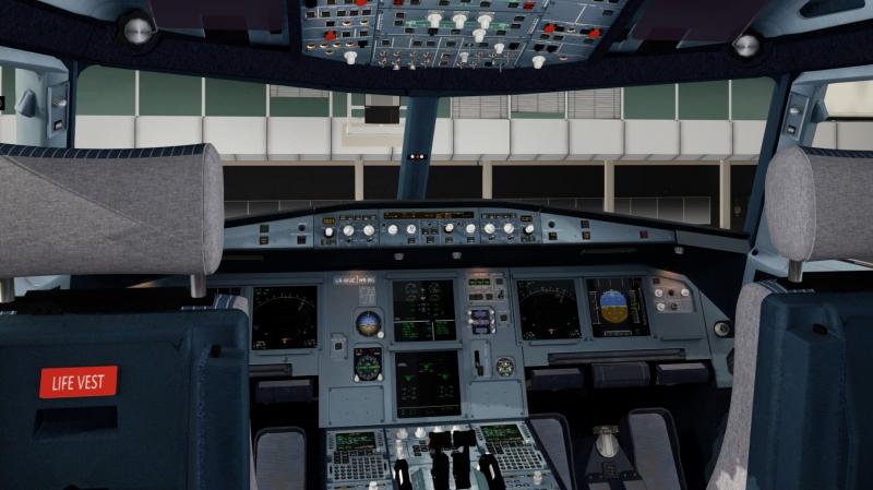 Cabina A320 de JARDesign para X-plane