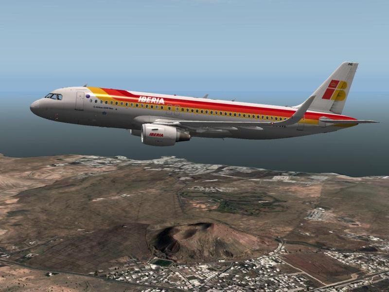 A320 Iberia de JARDesign para X-plane
