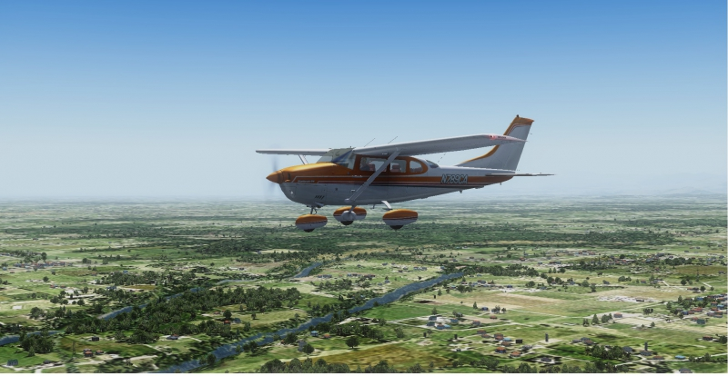 Volando VFR. Cessna U206G Stationair 6 II de Carenado y FS2004