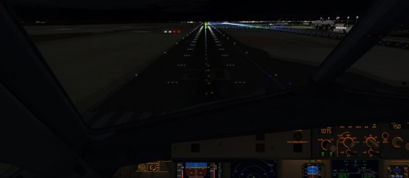 50 ft para la toma, por la pista 20 de Jerez, en el A321