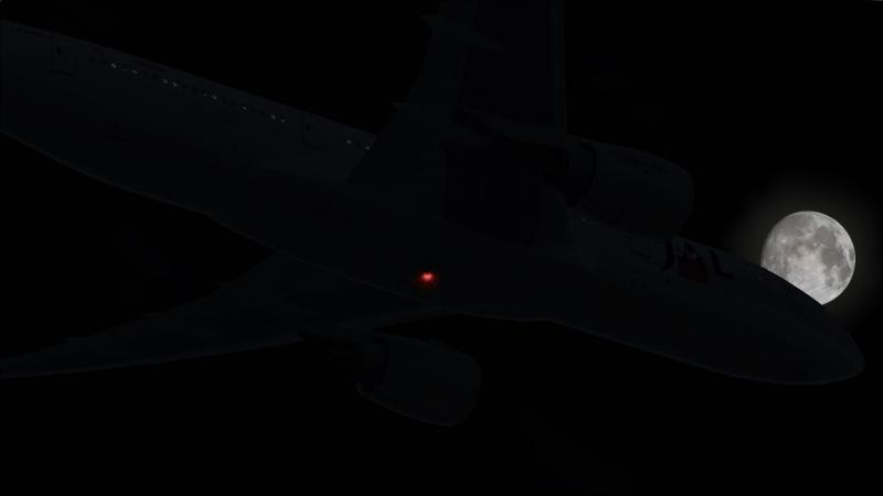 B777-200 hacia  Manila sobre el Pacífico Occidental FL380