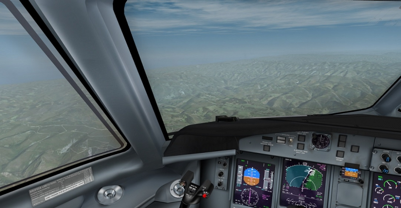LECO--> LEXJ. Sobre Asturias con un Dash8-Q400